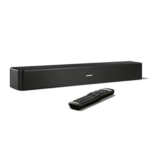 Bose ® Solo 5 TV Sound System schwarz (Dvd Blue-ray-player Wireless)