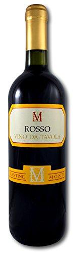 Cantine Monti Vino Rosso, Bottiglia da 75