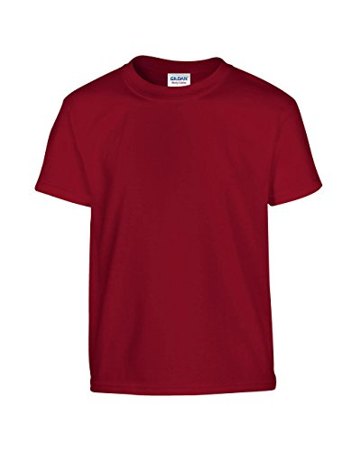Gildan: Kids` Heavy T-Shirt 5000B, Größe:XL (182+);Farbe:Cardinal Red (Kinder-cardinal Red T-shirt)
