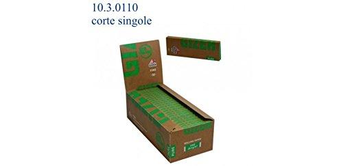 Cartine Gizeh Pure Fine Corte 1 Box 50 Libretti 2500 Cartine