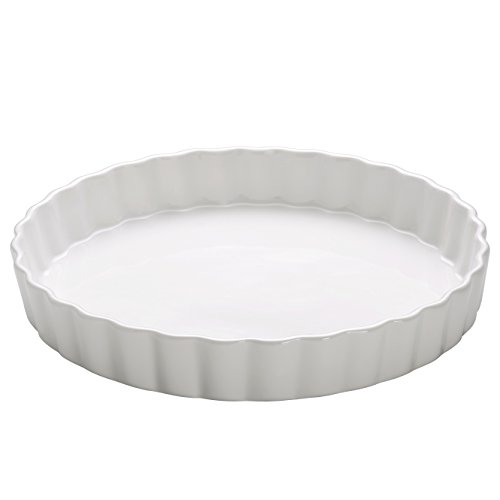 Maxwell & Williams AA05017 Kitchen Quicheform, Kuchenform, Backform, 28 cm, in Geschenkbox, Porzellan