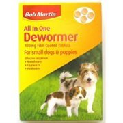 Bob Martin All in One 1 de wormer dog worming tablet all sizes