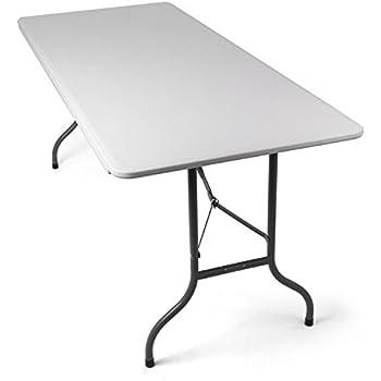 Relaxdays table de jardin 120x60 cm pliante terrasse for Tavolo cucina 120x60