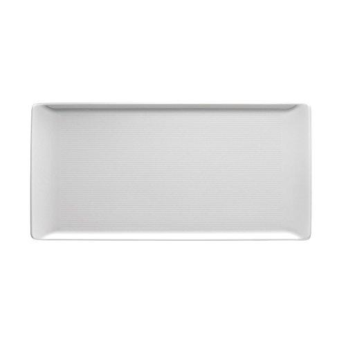 Thomas' Loft - Platte flach 30x15cm, Weiß
