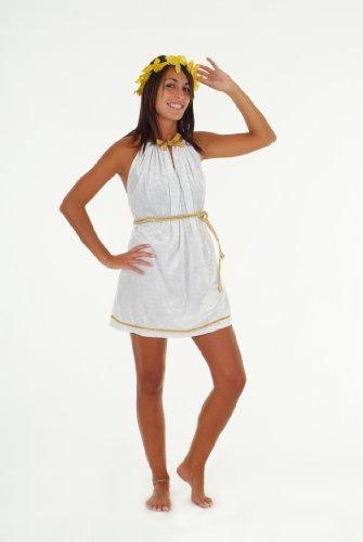 Griechin Römerin Kostüm für Damen Gr. L Kleid Toga (Kleid Kostüme Toga)