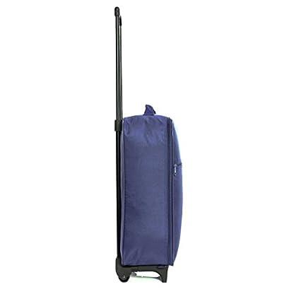 Slimbridge-Leichtgewicht-Handgepck-Trolley-Koffer-Bordgepck-Reisekoffer-Superleicht-Gepck-mit-Rollen-55-cm-950-Gramm-27-Liter-auf-2-Rdern-Barcelona