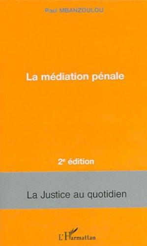 La médiation pénale