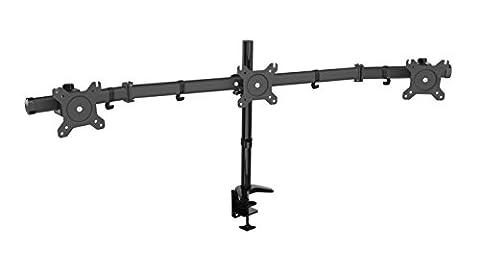 Support 3 Ecrans - HFTEK® HF330C Support de bureau pour trois