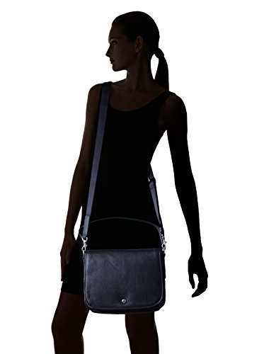 Bree Sofia 9 Schultertasche Leder 30 cm Black