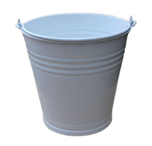 large-galvanised-powder-coated-metal-bucket-with-drainage-hole-ideal-for-plant-pot-indoor-outdoor-ga