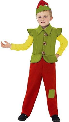 (Para niños taller de Helper Ben de elfo navideño diseño de rosetones de TV y balón de Holly Little Kingdom de serie de dibujos animados carcasa Fancy disfraz infantil de atuendo e instrucciones para hacer vestidos)