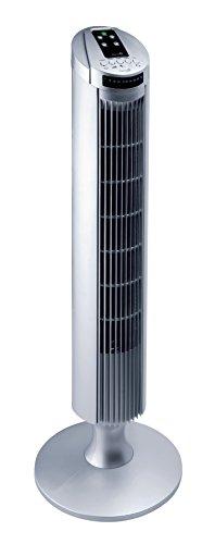 Garza Alisio Ventilador de Torre, 3 Velocidades, Blanco