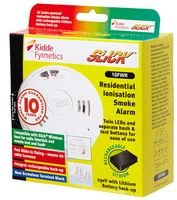 Rilevatore di fumo a ionizzazione SLICK di rete 10 anni 1SFWR di KIDDE & miglior prezzo quadrato