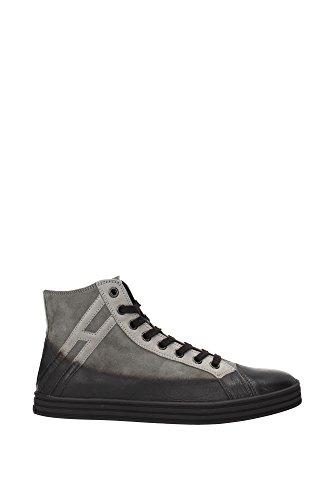 HXM14109495C7U4830 Hogan Sneakers Homme Chamois Gris Gris