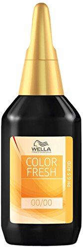 Wella Color Fresh Glanz-Tönung 6/ 7 dunkelblond braun, 2er Pack, (2x 75 ml)