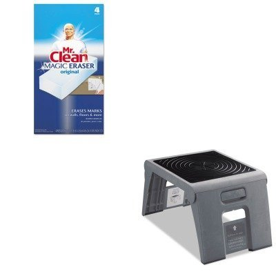 kitcra50051pk82pag82027-value-kit-cramer-folding-step-stool-cra50051pk82-and-mr-clean-magic-eraser-f