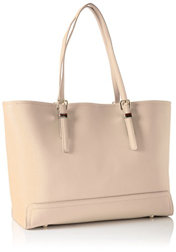 Tommy Hilfiger - Honey Medium Tote Solid, Borse Tote Donna Beige (Cuban Sand)