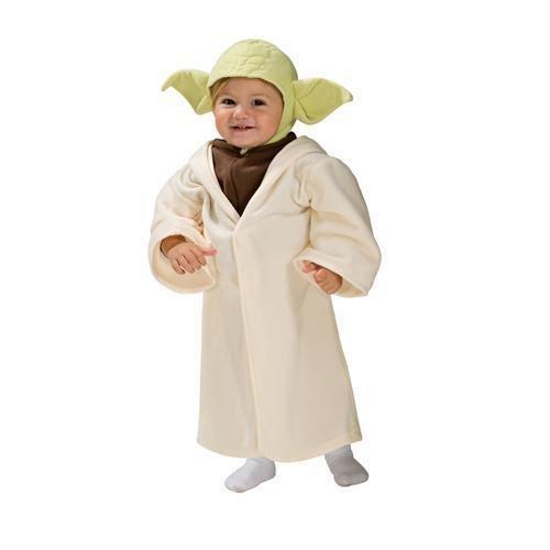 Original Lizenz Star Wars Yoda Kostüm 0 - 6 M, Größe:Newborn