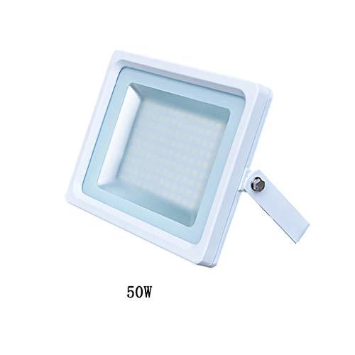 50w Wand Licht (XEX LED Strahler Mit,Scheinwerfer Wasserdichtes IP65-Arbeitslicht des Sicherheits-Licht-im Freien Hof Wand Licht Vorarbeiter Garden Garage Lighting (Color : 50W, Size : Warm Light))