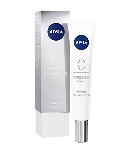NIVEA PROFESSIONAL Vitamin C Tagespflege LSF 15, Creme Tagescreme fürs Gesicht, Anti-Aging Pflege...