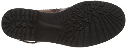 Marc Shoes Massa Damen Biker Boots Braun (brandy 350)