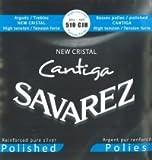 Savarez 510 CJH New Cristal CANTIGA Polished Satz, High Tension (blau)