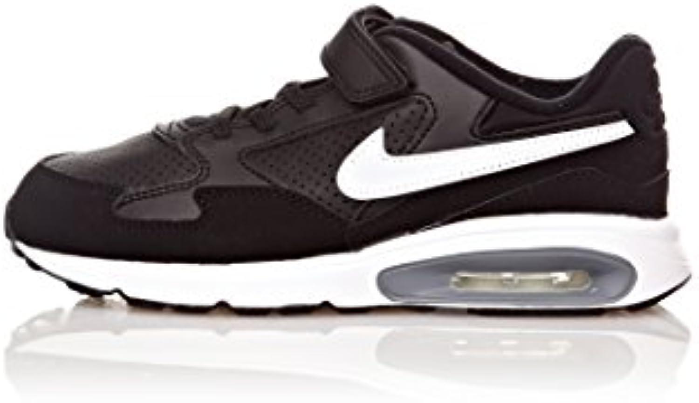 Nike Zapatillas Air Max St (Psv) Negro/Blanco EU 31.5 (US 13.5)