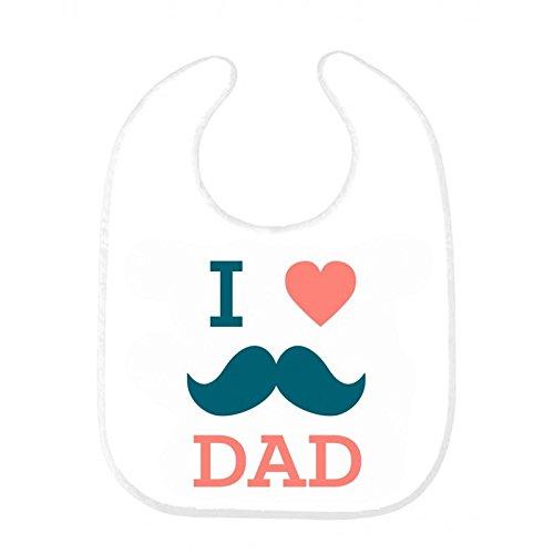 Bavoir bébé i love papa ref 168