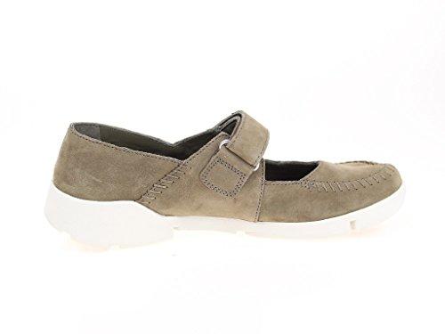 Clarks Damen flache Slipper TRI AMANDA khaki, (SAGE) 261156205 Sage