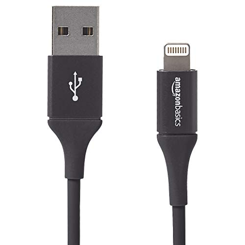 AmazonBasics - Lightning-auf-USB-A-Kabel, Premium-Kollektion, 0,9 m, 1er-Pack - Schwarz (Anker-premium-usb-kabel)