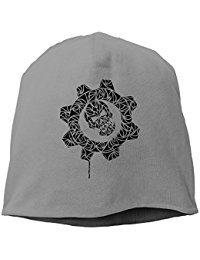 Gears Of War Logo Tribal Beanie Knit Hat Toboggan RoyalBlue