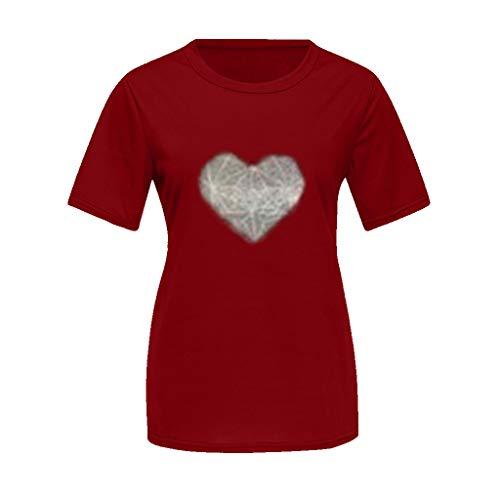 fit Mutter Vater Kind Kleidung Freizeit Baumwolle Kurzarm Outfits Eltern Kind Matching T-Shirts Tops Papa und Sohn Mama und Tochter Sommer Drucken T-Shirt ()