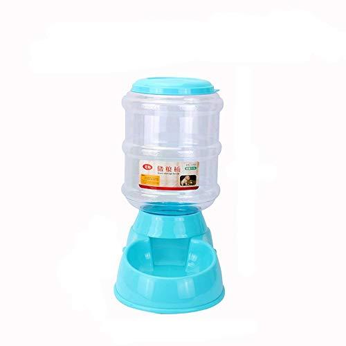 CAOQAO 3.5L Distributeur De Nourriture Distributeur Automatique Croquettes pour Chats Et Chiens,Pet Feeder pour Chien Et Chat (Automatic Feeder),Distributeur Eau Et Croquettes Automatique(,Bleu)