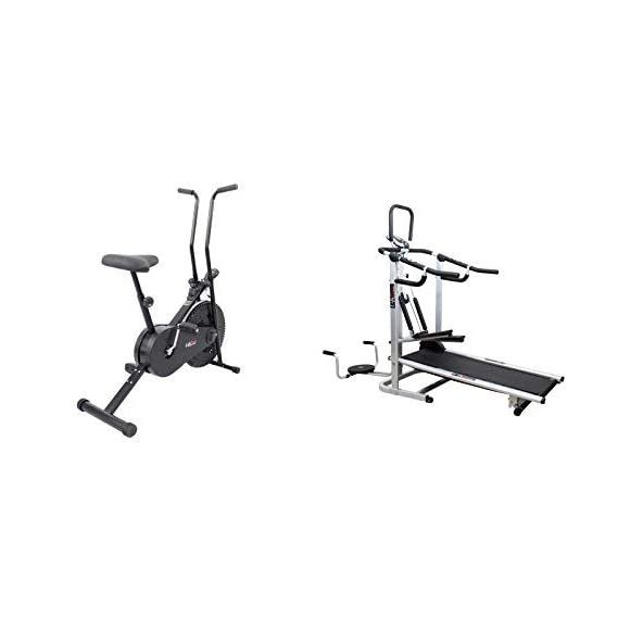 LIFELINE FITNESS COMBO 4 IN 1 DELUXE TREADMIL AND EXERCISER CYCLE 102