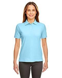 8530 UC LADIES CLASSIC PIQUE POLO BABY BLUE XS (Classic Ladies Polo Blue)