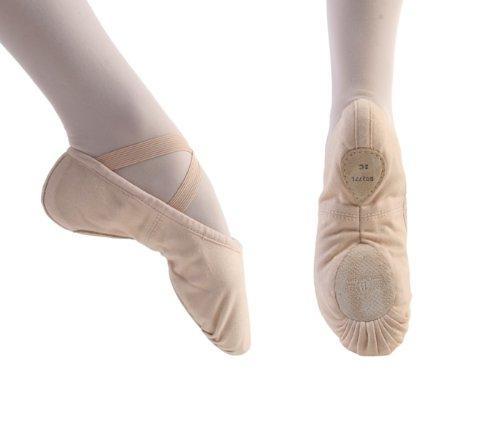 Chaussures De Ballet Satin Semelle Pleine De 231 Bloch Prolite - Rose - Taille Ou 37,5 - Montage C