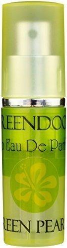 Greendoor Eau de Parfum (EdP) Green Pearls aus Bio Alkohol, Natur Parfüm, leichter fröhlicher Duft für Damen, Taschenzerstäuber mit Vaporisateur, natürlicher Damenduft -