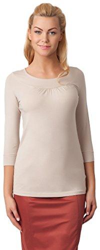 Merry Style Damen Bluse Top 23 Beige