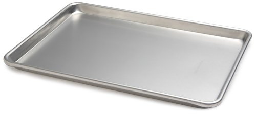 Focus Foodservice Commercial Bakeware Aluminiumpfanne 18 Gauge 1/2 Sheet silber Amco Pan