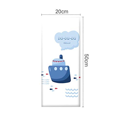 Wandstoßfänger 3D Wandaufkleber Schlafzimmer Kopfteil Cartoon Soft Bag Wandumfang Selbstklebende Hintergrundwand zurück Dekoration (Farbe : 11#) (11. Platz Halloween)