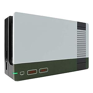 eXtremeRate Schale für Nintendo Switch Dock,Hülle Case Gehäuse Cover Schale Ersatzteile Zubehör für Nintendo Switch Dock…