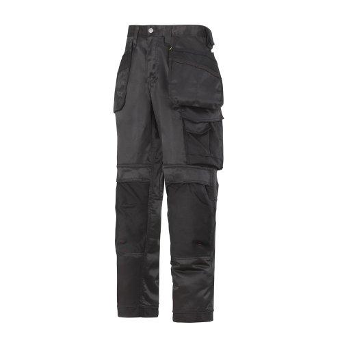Snickers Workwear Arbeit–pantoloni, rot, 32121604158 schwarz -schwarz
