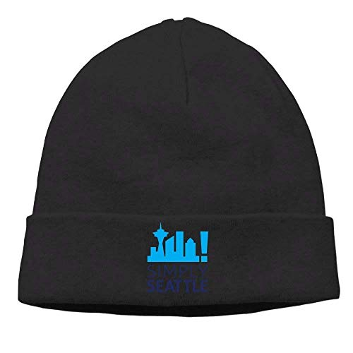 Fashion Funny hat Unisex Beanies Caps Simply Seattle Skull Hats Soft Hedging Cap - Seattle Baseball-park