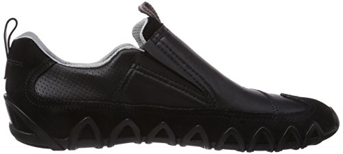 ECCO Dayla Black Suede/Feather, Sneaker a Collo Basso Donna Nero (Schwarz (Black/Black Suede/Feather51707))