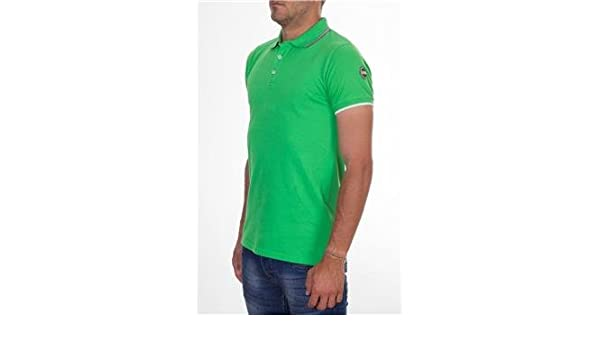 Colmar originals polo uomo VERDE P5 L: Amazon.it: Sport e
