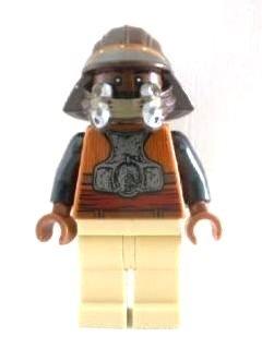 LEGO Star Wars: Lando Calrissian - Skiff Guardia (Nuovo Stile) Minifigura