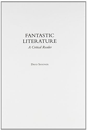 fantastic literature Introduction: the fantastic as a literary genre the fantastic must be so close to the real that you almost have to believe in it —fyodor dostoevsky.