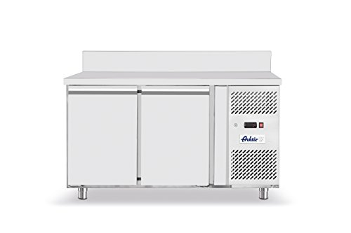Hendi 232064 Tiefkühltisch Zweitürig Profi Line, Edelstahl