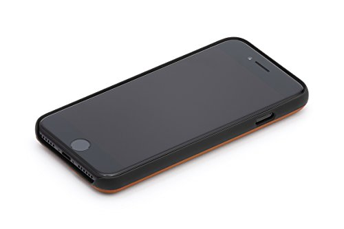 Bellroy iPhone 8 Plus / 7 Plus Phone Case - 3 Card aus Leder, Farbe: Eucalyptus Caramel