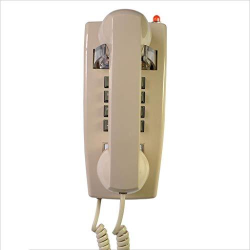 Teléfono Retro teléfono Pared Fijo teléfono Hotel